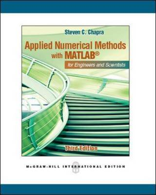 Applied Numerical Methods with MATLAB (BOK)