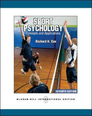 Sport Psychology: Concepts and Applications (Int'l Ed) (BOK)