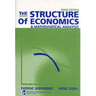 The Structure of Economics: A Mathematical Analysis (BOK)