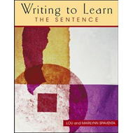 Writing to Learn the Sentence (Book 1) (BOK)