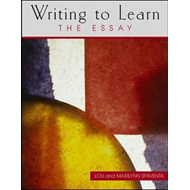 Writing to Learn the Essay (Book 4) (BOK)