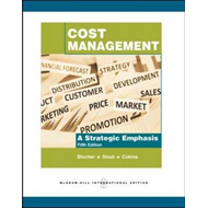 Cost Management: A Strategic Emphasis (BOK)
