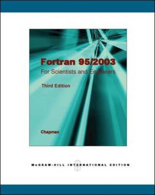 Fortran 95/2003 for Scientists & Engineers (BOK)