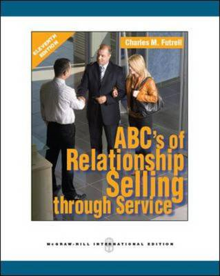 ABCs of Relationship Selling (BOK)