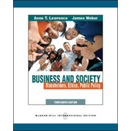 Business and Society: Stakeholders, Ethics, Public Policy (BOK)