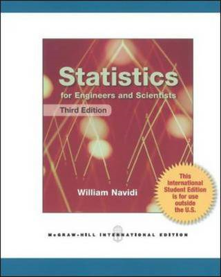 Statistics for Engineers and Scientists (BOK)