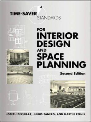 Time-Saver Standards for Interior Design and Space Planning, (BOK)