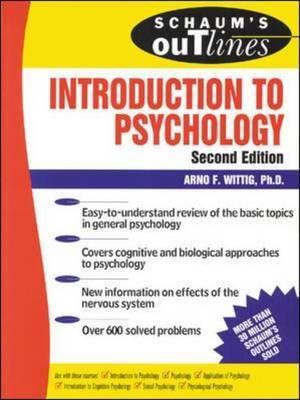 Schaum's Outline of Introduction to Psychology (BOK)