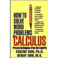 How to Solve Word Problems in Calculus (BOK)