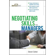 Negotiating Skills for Managers (BOK)