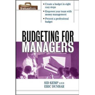 Budgeting for Managers: A Briefcase Book (BOK)