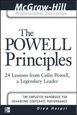 The Powell Principles: 24 Lessons from Colin Powell, a Lengendary Leader (BOK)