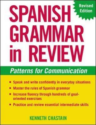 Spanish Grammar in Review: Patterns for Communication (BOK)