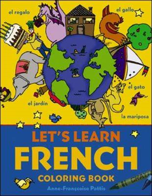 Let's Learn French Coloring Book (BOK)