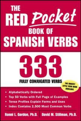Red Pocket Book of Spanish Verbs (BOK)