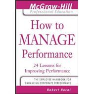 How to Manage Performance (BOK)