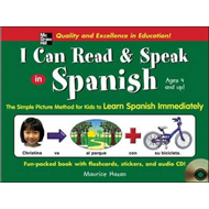 I Can Read and Speak in Spanish: The Simple Picture Method for Kids to Learn Spanish Immediately (BOK)
