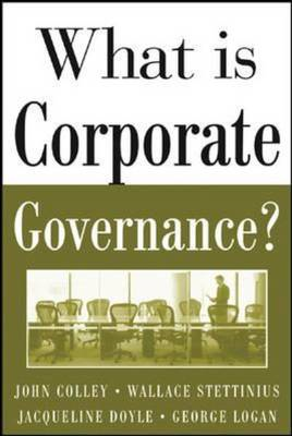 What is Corporate Governance? (BOK)