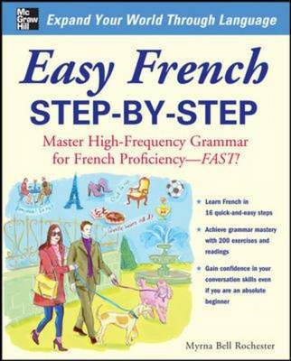 Easy French Step-by-Step (BOK)