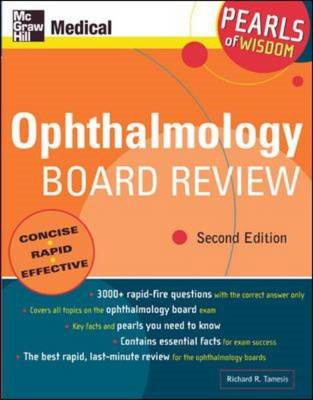 Ophthalmology Board Review: Pearls of Wisdom (BOK)