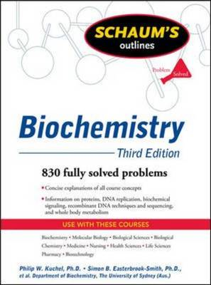 Schaum's Outline of Biochemistry, Third Edition (BOK)