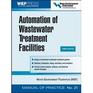 Automation of Wastewater Treatment Facilities - MOP 21 (BOK)