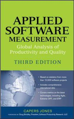 Applied Software Measurement: Global Analysis of Productivity and Quality (BOK)