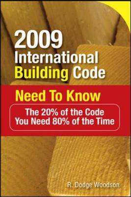 2009 International Building Code Need To Know (BOK)