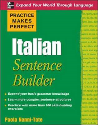 Practice Makes Perfect Italian Sentence Builder (BOK)