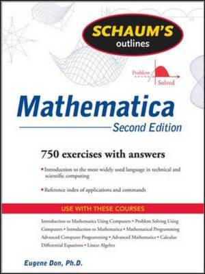 Schaum's Outline of Mathematica (BOK)