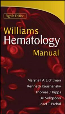Williams Manual of Hematology (BOK)