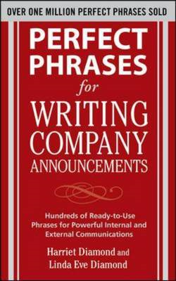 Perfect Phrases for Writing Company Announcements: Hundreds (BOK)
