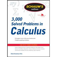Schaum's 3,000 Solved Problems in Calculus (BOK)