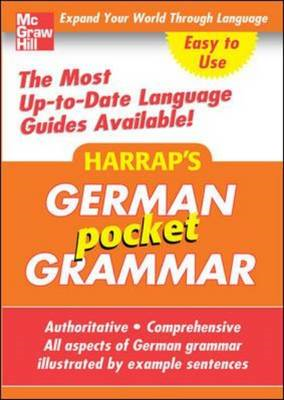 Harrap's Pocket German Grammar (BOK)