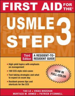 First Aid for the USMLE Step 3 (BOK)