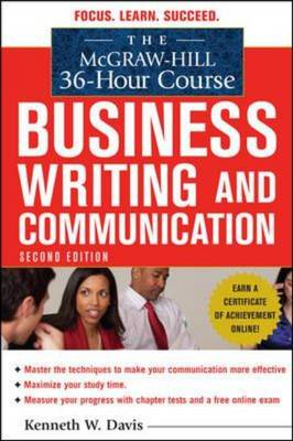 The McGraw-Hill 36-hour Course in Business Writing and Communication (BOK)