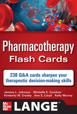 Pharmacotherapy Flash Cards (BOK)