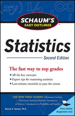 Schaum's Easy Outline of Statistics (BOK)