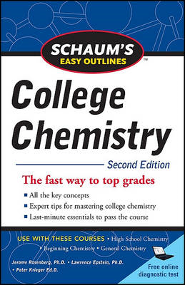 Schaum's Easy Outlines of College Chemistry (BOK)