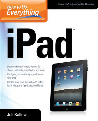 How to Do Everything IPad (BOK)
