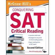 McGraw-Hill's Conquering SAT Critical Reading (BOK)