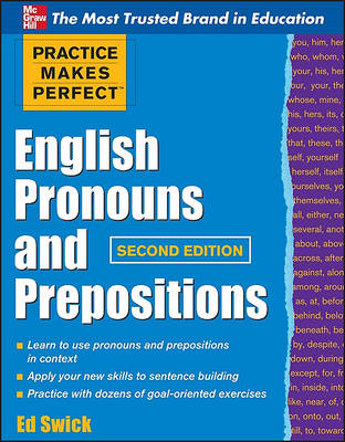 Practice Makes Perfect English Pronouns and Prepositions (BOK)