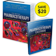 Casebook of Pharmacotherapy & Pharmacotherapy: A Pathophysiologic Approach Value Pack (BOK)