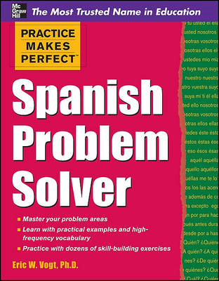 Practice Makes Perfect Spanish Problem Solver (BOK)