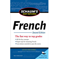 Schaum's Easy Outline of French (BOK)