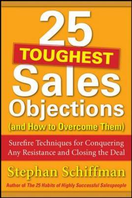 25 Toughest Sales Objections-and How to Overcome Them (BOK)