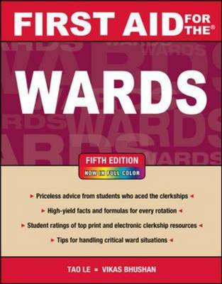 First Aid for the Wards, Fifth Edition (BOK)