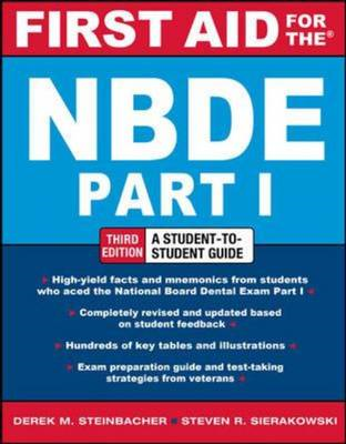 First Aid for the NBDE Part 1, Third Edition (BOK)