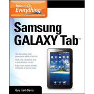How to Do Everything Samsung Galaxy Tab (BOK)