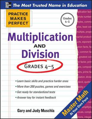 Practice Makes Perfect Multiplication and Division (BOK)
